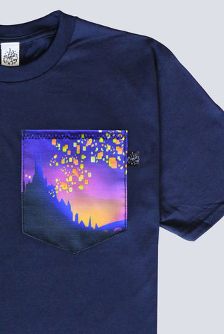 And At Last I See The Light Pocket T-shirt