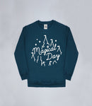Petrol Blue Magical Day Apparel Sweater