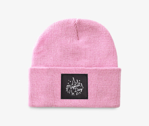 Pastel Pink Magical Day Apparel Beanie