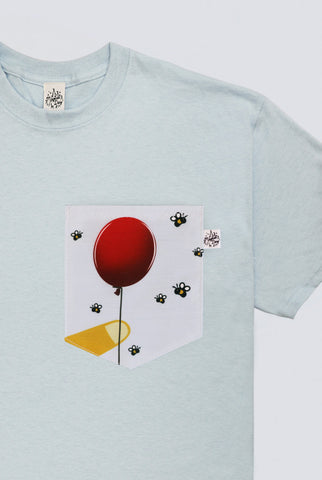 A Bear and His Favourite Balloon Pocket T-shirt