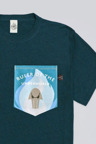 Ruler Of The Underworld Pocket T-shirt