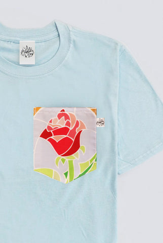 Enchanted Rose Pocket T-shirt
