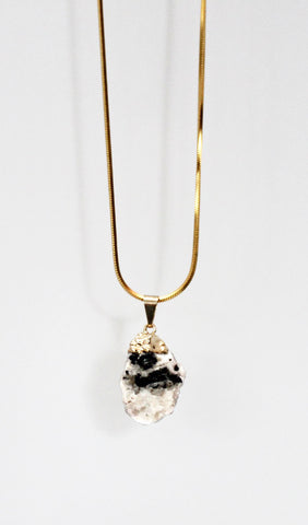 Rock of Te Fiti Crystal Necklace
