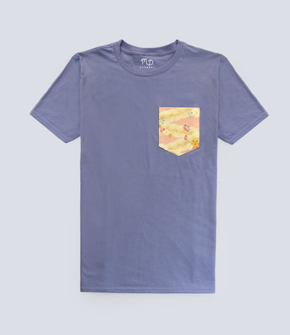 Tangled Hair Pocket T-shirt
