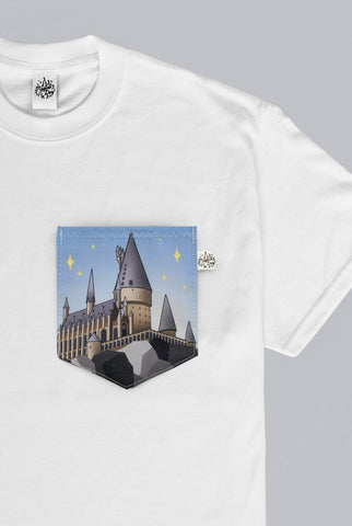 Wizarding Castle Pocket T-shirt