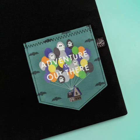 Adventure Is Out There Pocket T-shirt - Halloween Edition