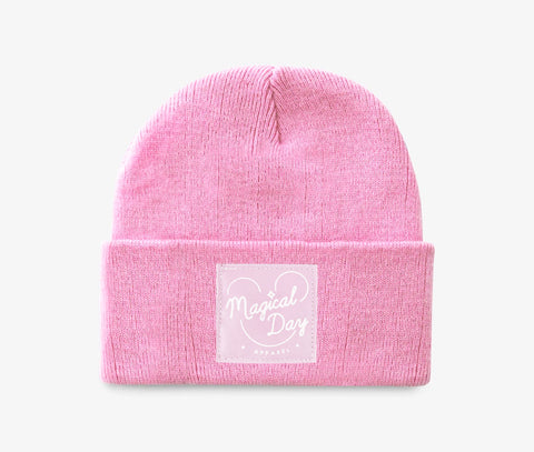 Pastel Pink All Ears Beanie