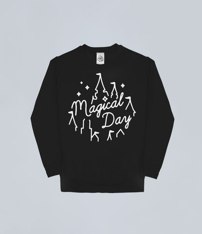 Black Magical Day Apparel Sweater