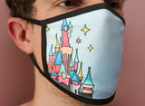 Castle Views Face Mask