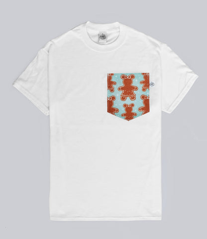 Mrs Gingerbread Pocket T-shirt