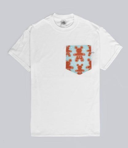 Mr Gingerbread Pocket T-shirt