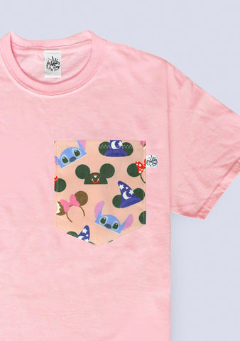 Ears Pocket T-shirt