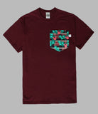 Holly Jolly Christmas Pocket T-shirt