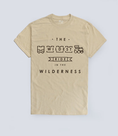Big Thunder Mountain The Wildest Ride In The Wilderness T-shirt