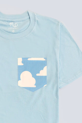 Andy's Cloud Wallpaper Pocket T-shirt