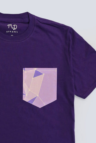 Purple Wall Pocket T-shirt