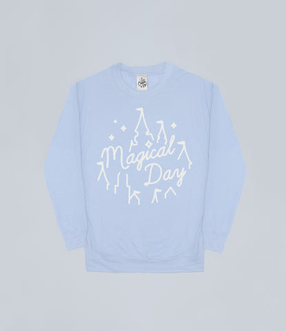 Pastel Blue Magical Day Apparel Sweater