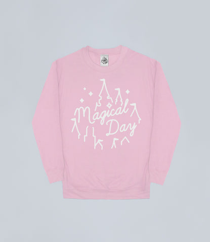 Pastel Pink Magical Day Apparel Sweater