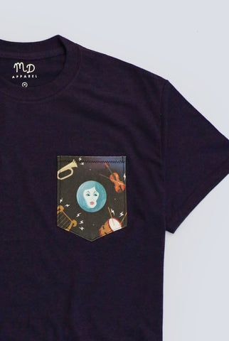 Madame Leota Pocket T-shirt