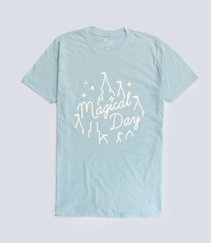 Light Blue Magical Day T-shirt