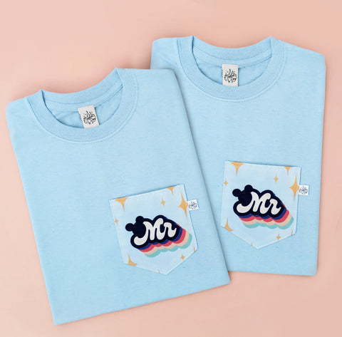 Mr & Mr Pocket T-shirts