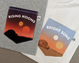 Rising Moons Pocket T-shirt