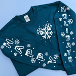Snowy Holidays Sweater - Limited Edition