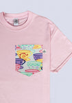Tea Cups Pocket T-shirt