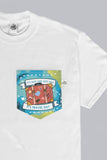 Travel Day Dream Away Pocket T-shirt