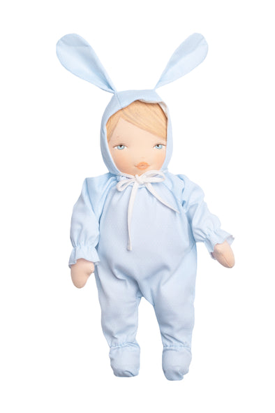Rubita Bunny with Blue Dot Outfit