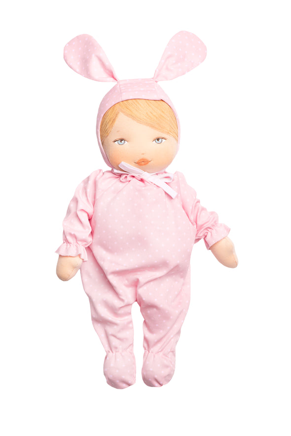 Rubita Bunny with Pink Dot Outfit