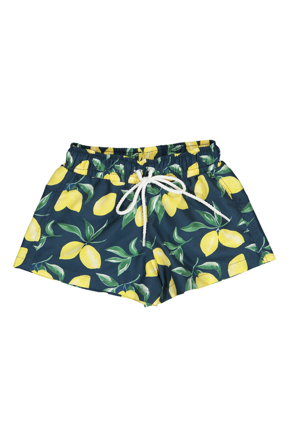 Lemon Boardie Short