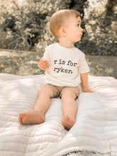 Load image into Gallery viewer, Custom Name Toddler Tee
