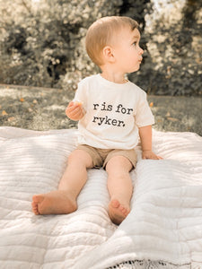 Custom Name Toddler Tee