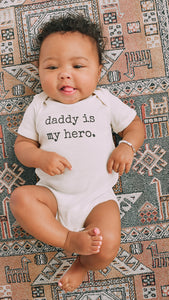 Daddy Is My Hero - Toddler Tee