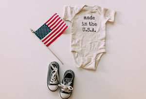 Made In The U.S.A. - Toddler Tee