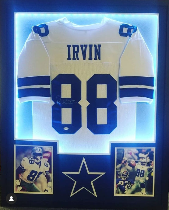 LED Lights Jersey Framing