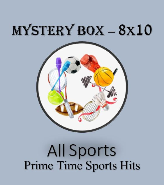 Prime Time Hits Mystery 8x10 - 0ne signed 8x10 - All Sports and Pop Culture