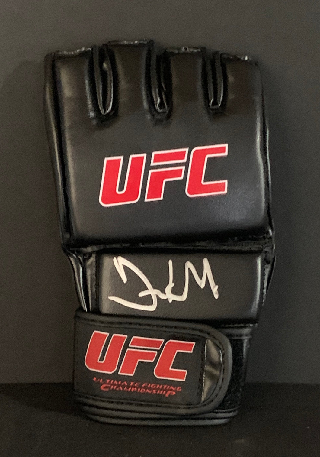 Frank Mir MMA Signed UFC Glove With JSA COA