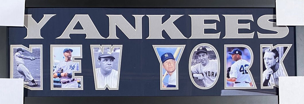 New York Yankees Team Plaque Greats