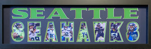 Seattle Seahawks Team Plaque Current