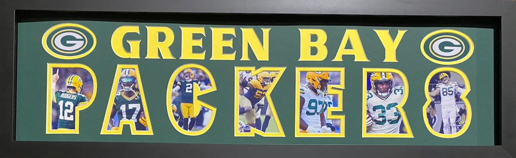 Green Bay Packers Team Plaque Current
