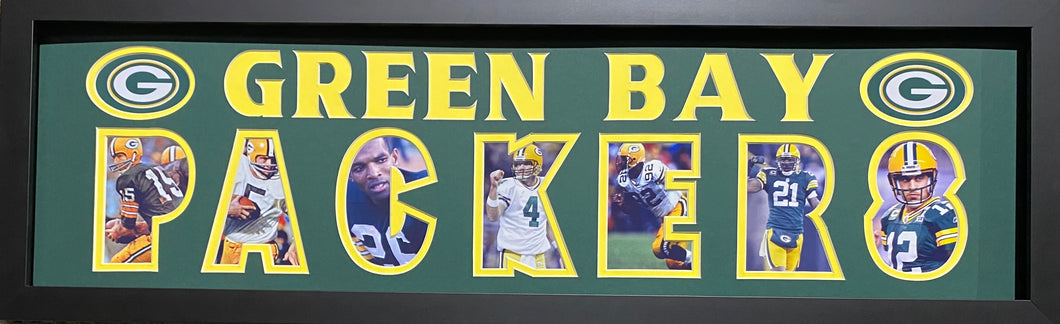 Green Bay Packers Team Plaque Greats