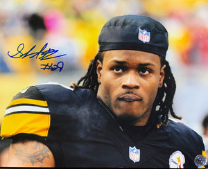 Shemarko Thomas Pittsburgh Steelers Signed 8x10 With COA