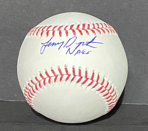 Lenny Dykstra Philadelphia Phillies Signed Official MLB Baseball Commissioner Manfred Nails Inscr. With JSA COA