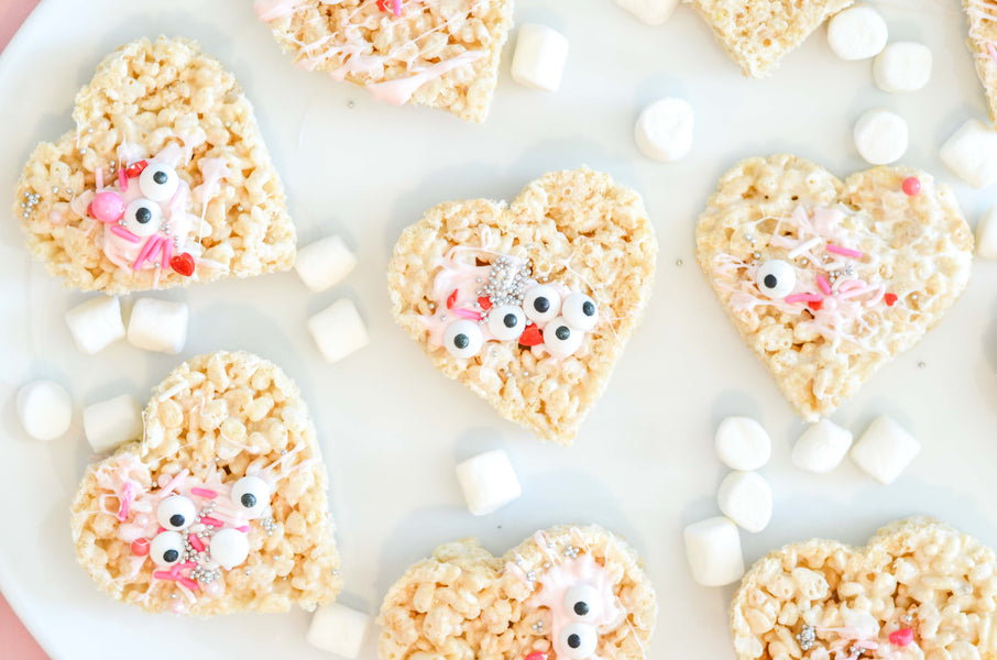 Rice Krispy Valentine's Treat // Simple and Yummy Treats