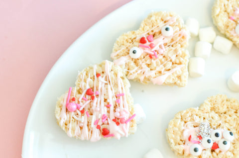 decorate rice krispy treats