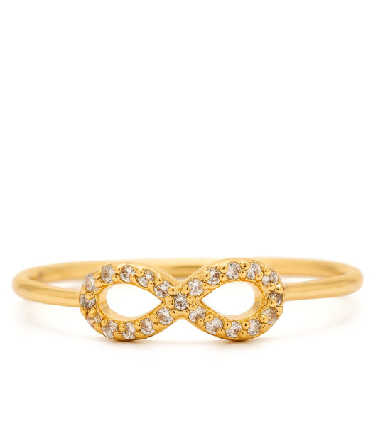 Shimmer Infinity Ring