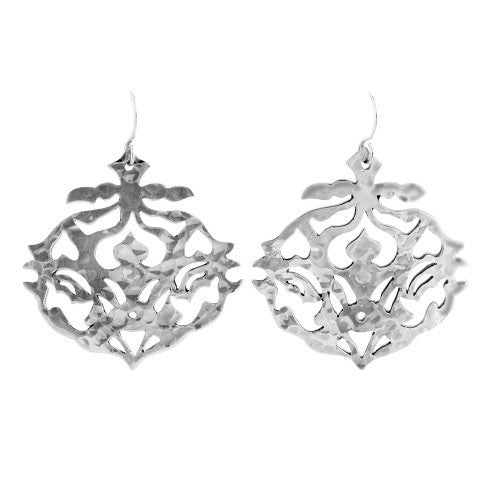 Andalusia Earrings Sterling Silver with hooks