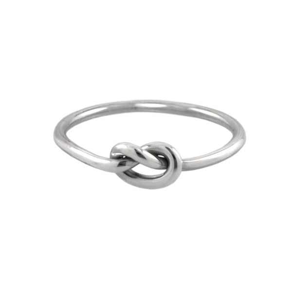 Love Knot Ring Silver